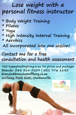 Lose weight with a personal trainer!
