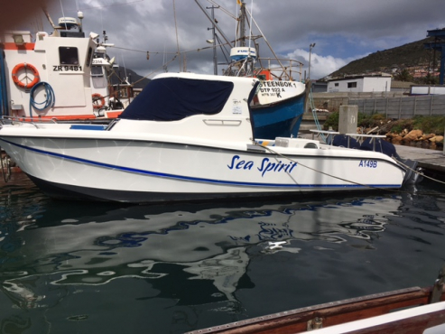 Tuna Boat plus Mooring For Sale In Houtbay