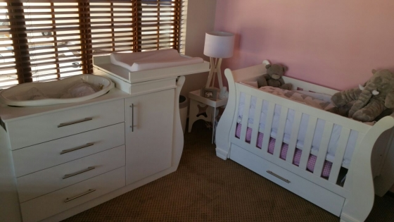 Furniture Depot Baby Cot and Compactum, used for sale  Johannesburg - Sandton