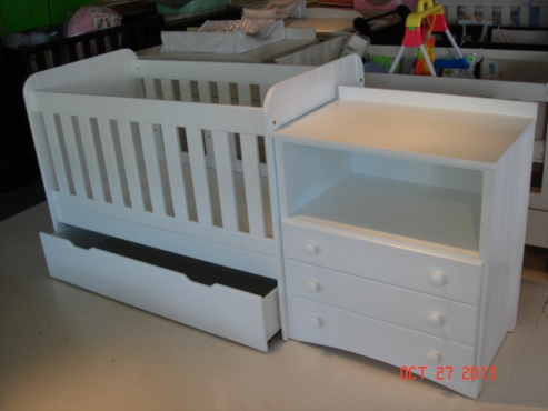 Baby Cots - New Standard Sizes - Cape Town