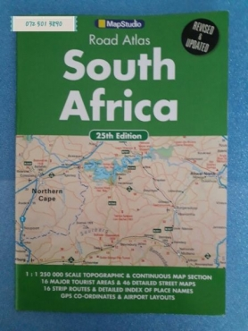 Road Atlas - South Africa - 25th Edition - MapStudio.