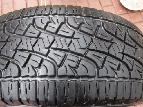1xPirelli Scorpion ATR tyre 255/60/18,85 percent tread!!For Ranger Bakkie