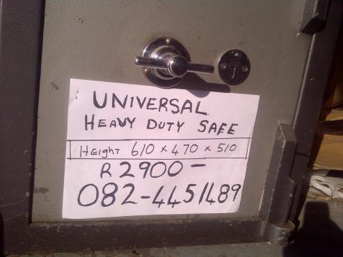 heavy duty safe