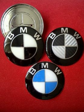 BMW badges- Boot,Bonnet,Wheel