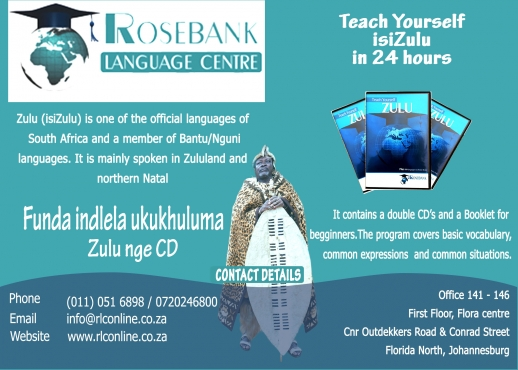 Learn Zulu with a CD