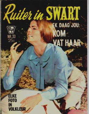 Gesoek: Ruiter in Swart fotoverhaal  - elke bladsy in kleur (A4 grootte): Prys onderhandelbaar