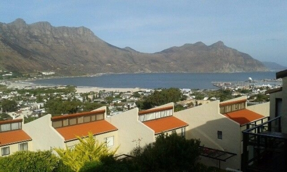 Stunning views from this spacious and secure 3 bedroomed Hout Bay townhouse.