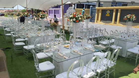 Limpopo Wedding Decor