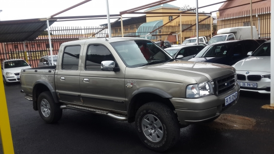 2007 Ford Rager 4000V XLE Double Cab Bakkie ; for sale