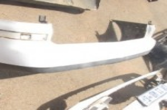 2008 Volkswagen Sharan Rear Bumper White For Sale