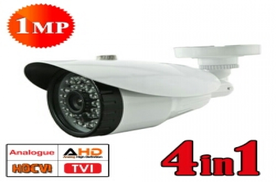 CCTV 1MP 4 in 1 High Definition Camera & DVRs