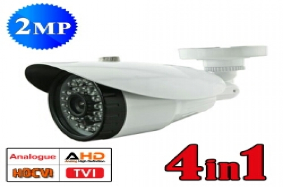 CCTV 2MP 4 in 1 High Definition Camera & DVRs