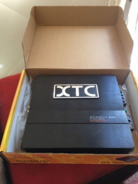 Car audio XTC AUDIO DA PARTY AMP, 2 channel 1500watt power