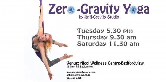 Zero Gravity Yoga by Anti-Gravity Studio- Bedfordview