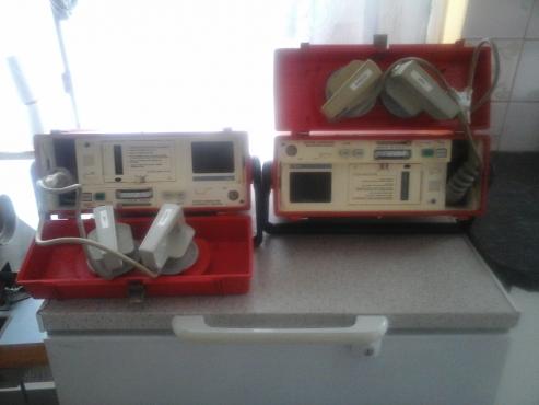 heart monitors (x2)