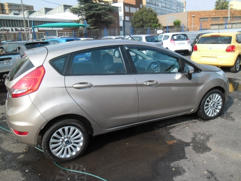 A Ford Fiesta Km Grey In Color Full Service Book
