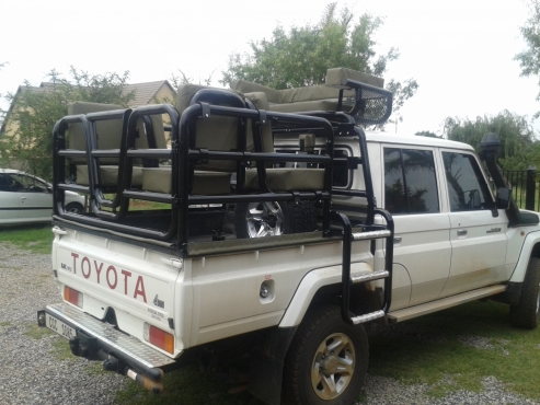 Land cruiser hunting frame complete and new