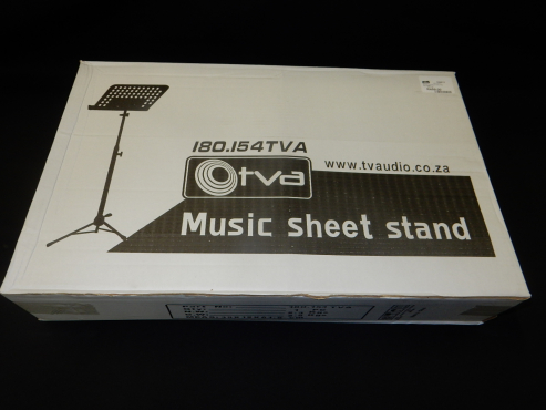 Microphone and Music Sheet Stands
