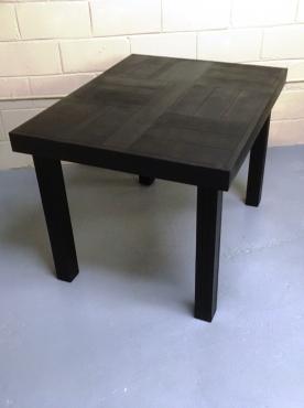 Patio table Farmhouse series 1090 Black