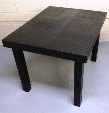 Patio table Farmhouse series 1100 Black