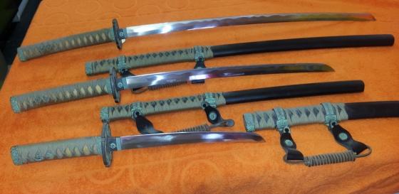 Samurai SWORD SET for Sale