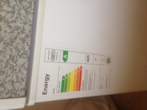 Defy Eco Energy CF530-HC 425 net volume chest freezer for sale
