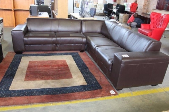 Brand new coricraft leather couches on auction aucor auctioneers junk mail Home furniture auctions cape town