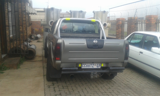 nissan hardbody np300 with lexus v8 to swap or R85000 | Junk Mail