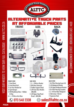 MAN TGA / TGS Body Parts & Components
