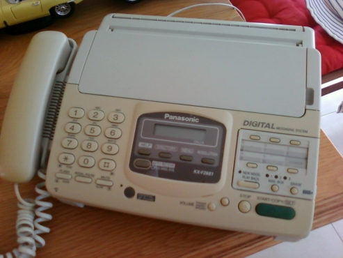Telephone  fax