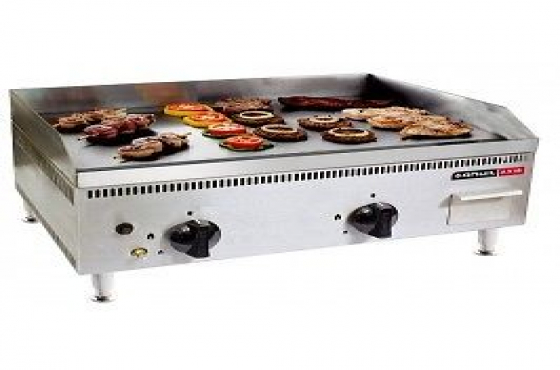 Anvil Combination Flat Top/Rib Gas Griller- 600mm