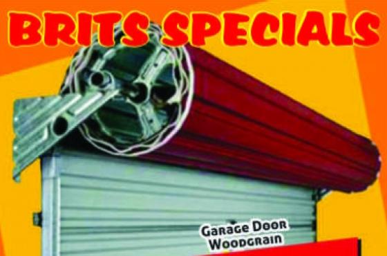 Garage Door Woodgrain