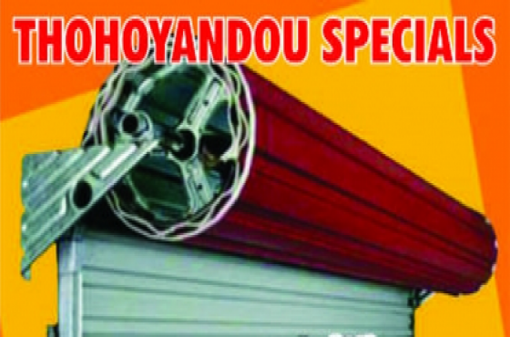 Thohoyandou Branch  - Garage Door Woodgrain