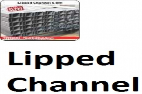 Lipped Channel 6.0m