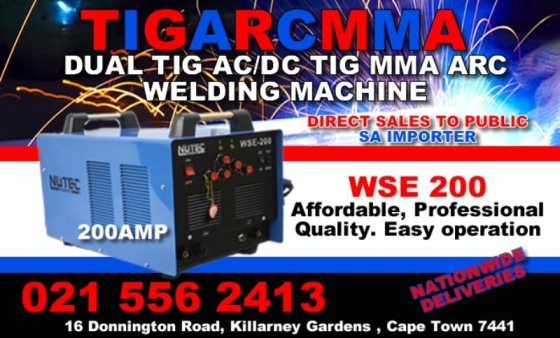 TIG AC/DC 200AMP
