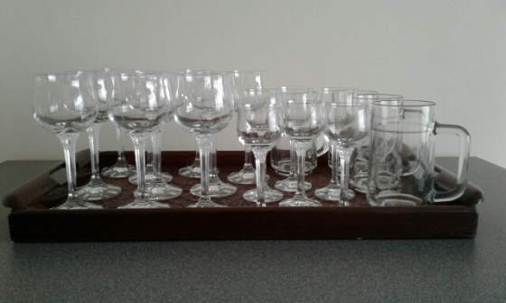 20 Glasses commemorating 75 Anniversary Irene Country Club