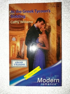 At The Greek Tycoon's Bidding - Cathy Williams - Mills & Boon - Modern.