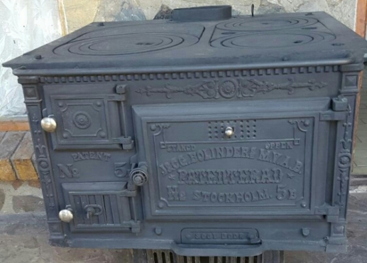 Coal Stove In Antique Furniture In South Africa
