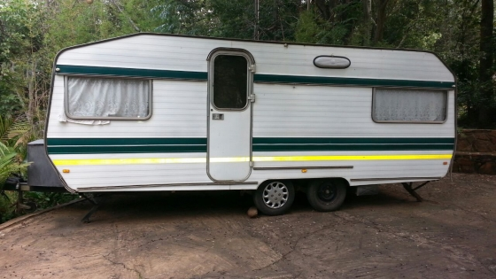 Caravan Double Axle In Caravans Campers And Trailers In