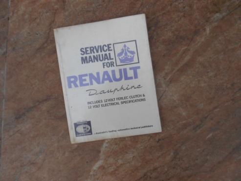 Renault Dauphine workshop manual