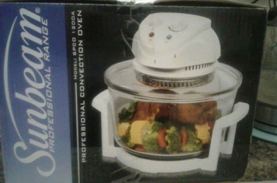 Nuwe sunbeam convection oven
