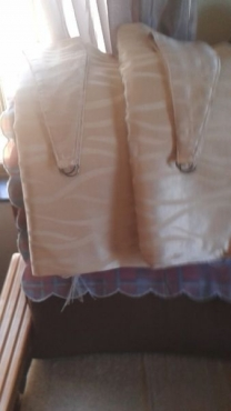 Curtains 2 drops standard length and lined