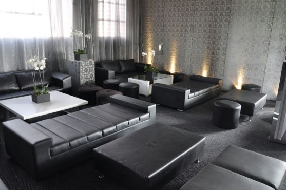 Block seated Couch