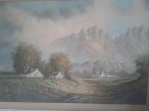 Small collection of Paintings etc.