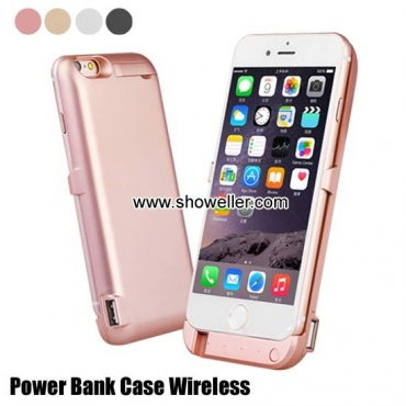 Power Bank Iphone 7 Case Wireless Back Clip Battery Charger Iphone5
