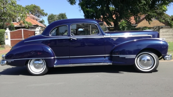 Classic Car for sale - 1946 Hudson Commodore 350 V8 Auto - Licenced