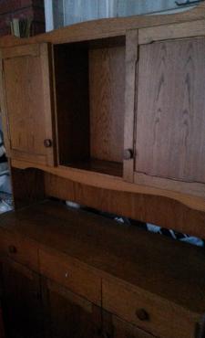 Oak Dining Room Cabinet Welsh Dresser