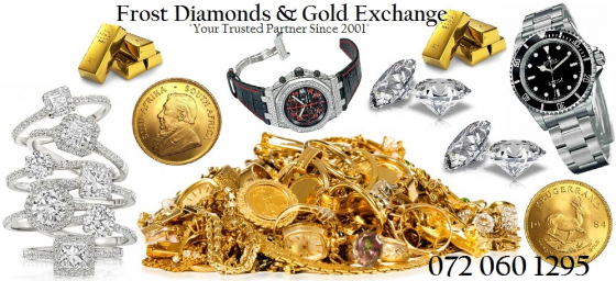 Cash Paid for Gold, Diamonds, Kruger Rands, Luxury Watches