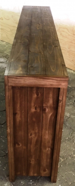 Display unit Farmhouse series 2200 Stained