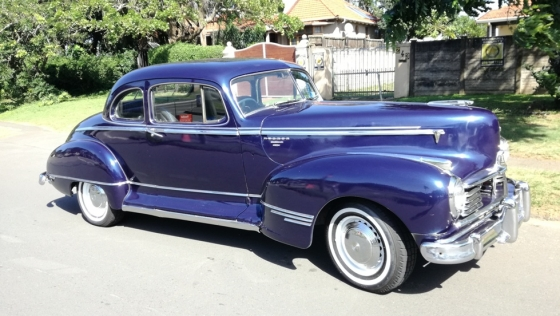 classic car for sale 1946 hudson commodore 350 v8 auto licenced junk mail. Black Bedroom Furniture Sets. Home Design Ideas